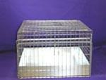 18x18x12 Cavy Cage Kit/ Metal Tray